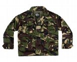 Children's Army Padded Camouflage Jacket